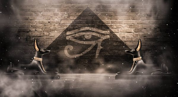 Anubis and The Pyramid of Protection